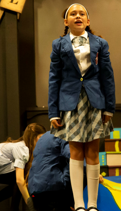 """Campbell Carr, 12, of Ahwatukee is one of the stars in """"Matilda the Musical"""" being presented at the Zao Theater in Apache Junction beginning June 10."""