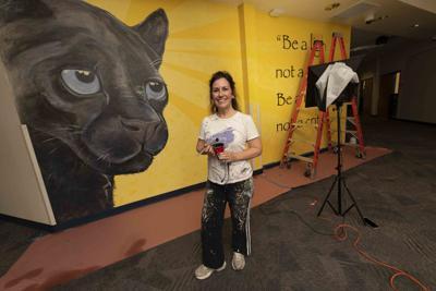 Suzanne Whitaker Altadena Middle School Mural