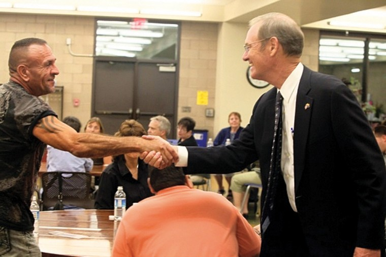 Terry Goddard at Pecos Community Center