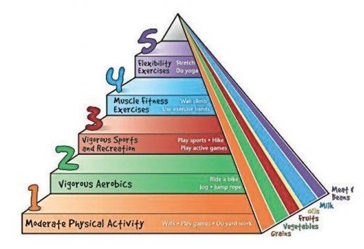 The New Physical Activity Pyramid for Kids