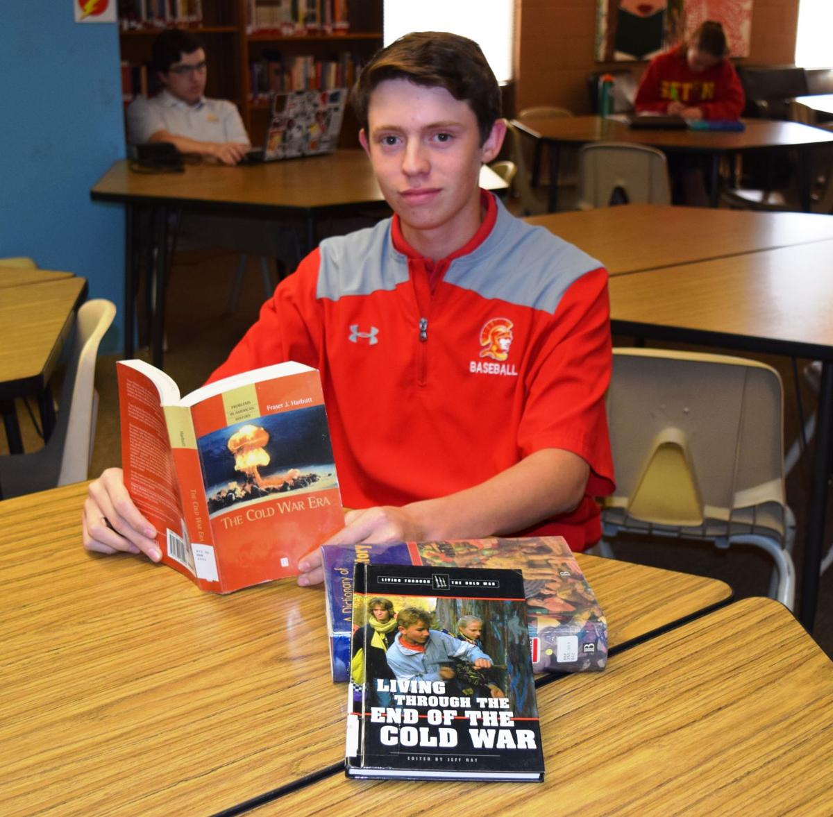 Catholic Prep junior Ethan Brown of Ahwatukee won the annual Phoenix Veterans Day Parade Essay Contest.