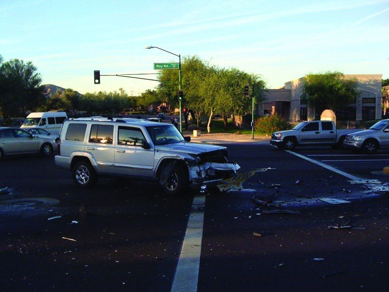 Collision at Ray Road