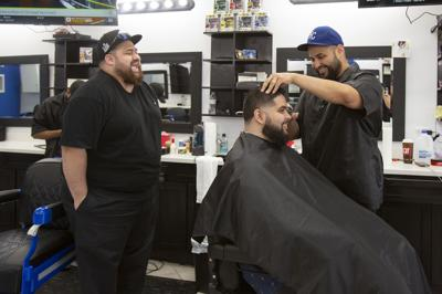 Brother barbers cut into local business scene