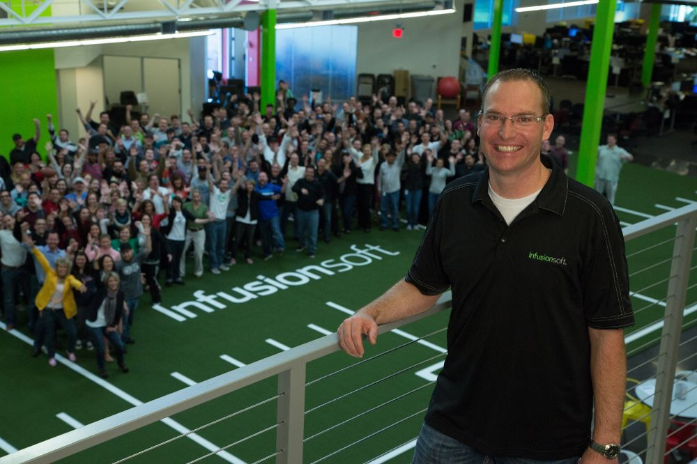 Clate Mask, co-founder and CEO of Infusionsoft