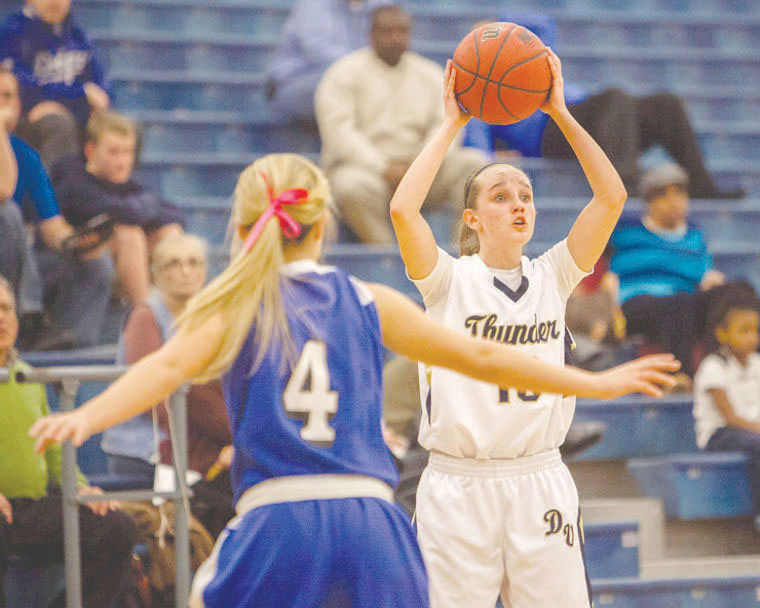 Desert Vista girls basketball