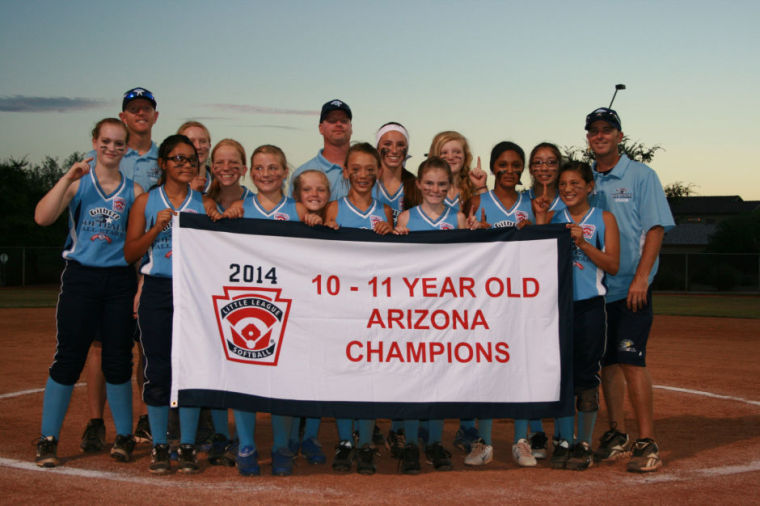 Gilbert Softball Little League all-stars