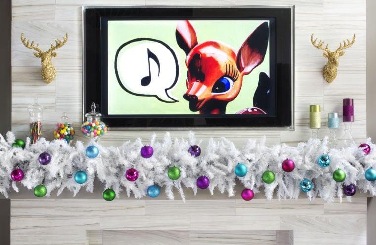 Creative holiday decorations