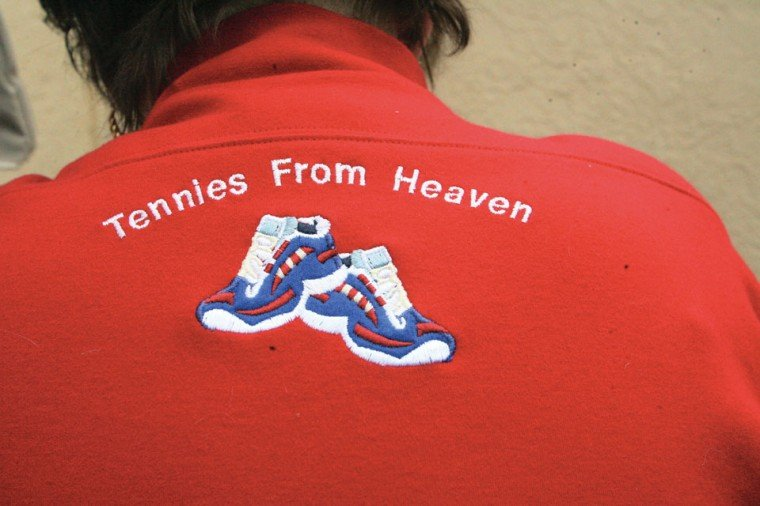 'Tennies from Heaven' remembers a son taken too soon