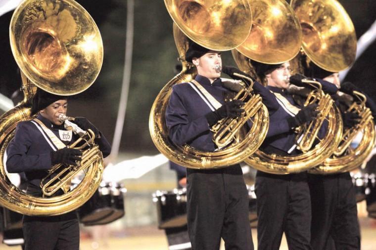 Desert Vista marching band