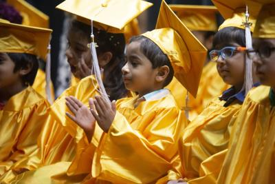 Kindergartners also have their graduation Ahwatukee Foothills Montessori