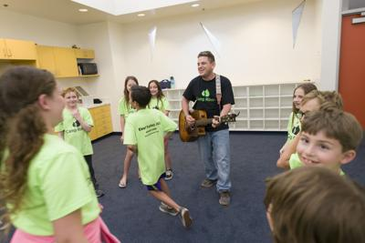 Musician from Israel inspires day campers