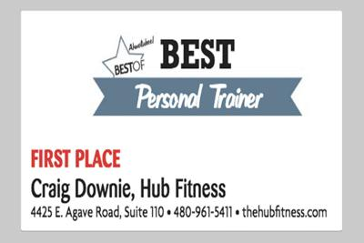 Craig Downie, Hub Fitness  4425 E. Agave Road, Suite 110