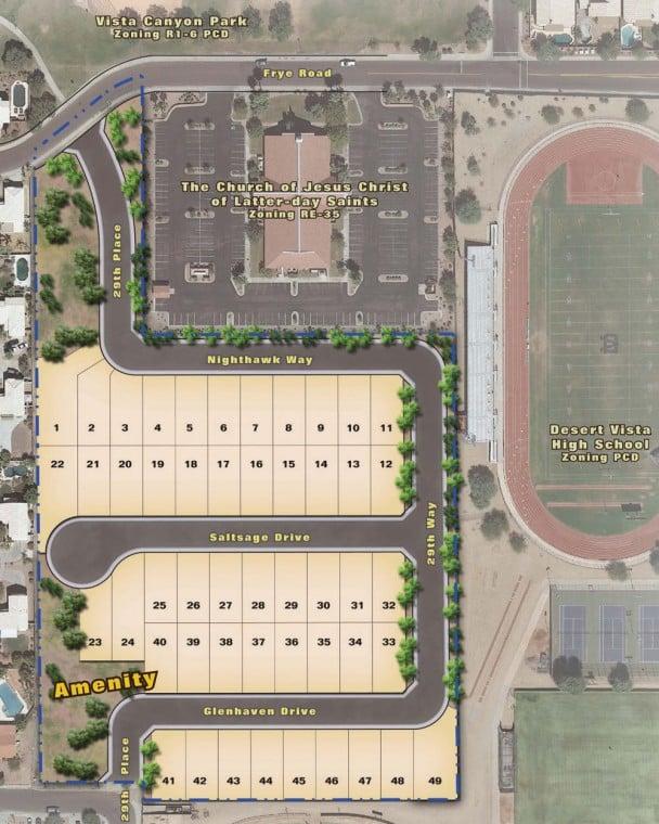 Proposed Site Plan Rendering