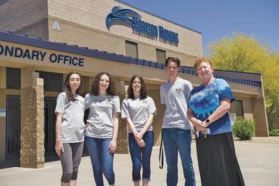 Horizon Honors students