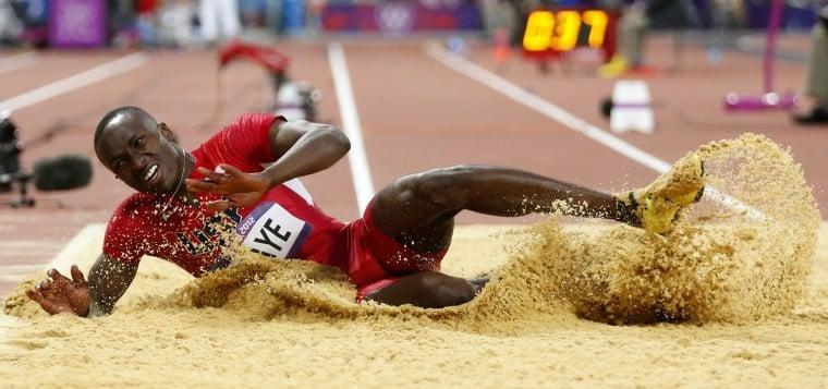 Will Claye earns silver in triple jump
