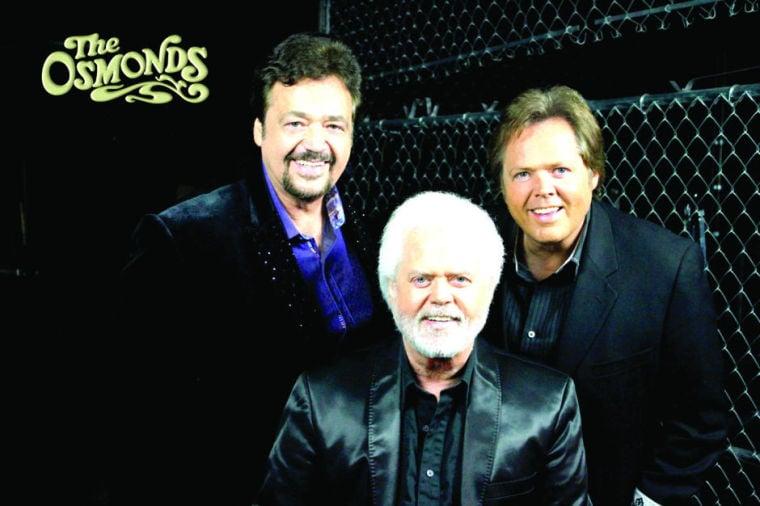 Jay, Merrill and Jimmy Osmond