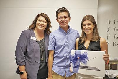 Student, credit union team up for a teacher