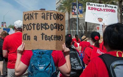 Arizona still remains near  bottom in school spending