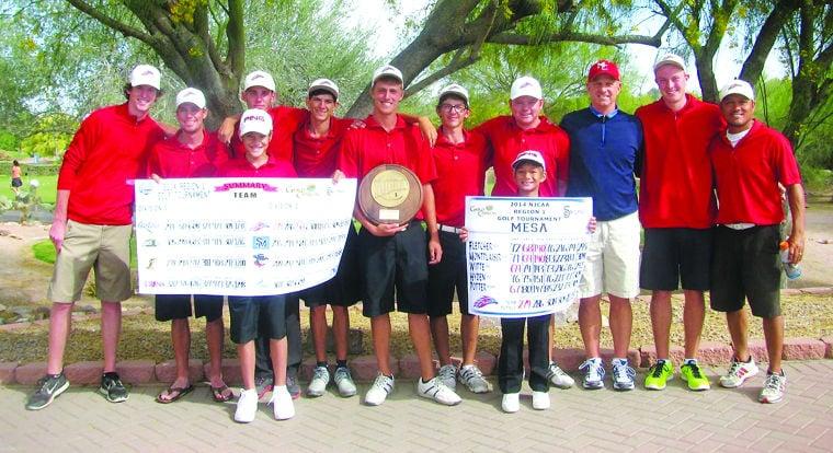 Mesa Community College men's golf team