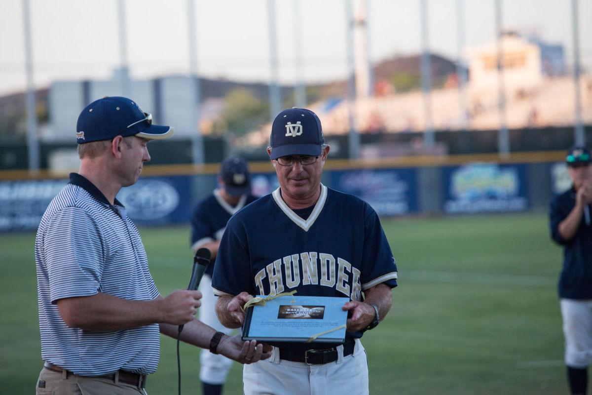 When he was the head baseball coach at Desert Vista, Stan Luketich got the team into four state championships, winning twice.