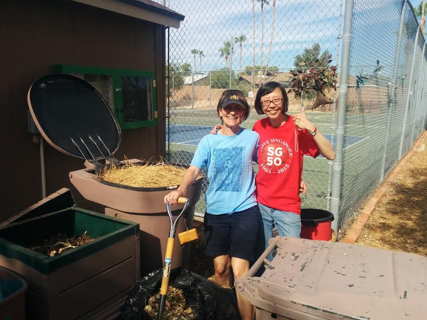 Ahwatukee residents learn how to work compost