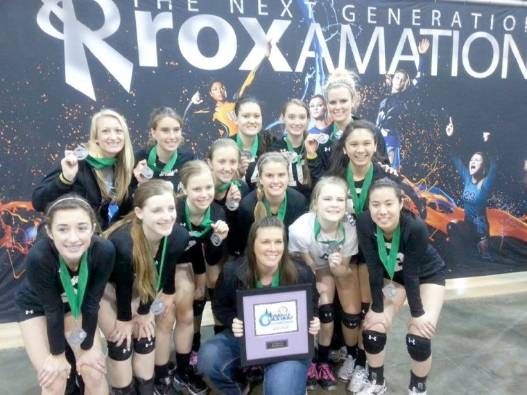 Local volleyball team finishes 2nd