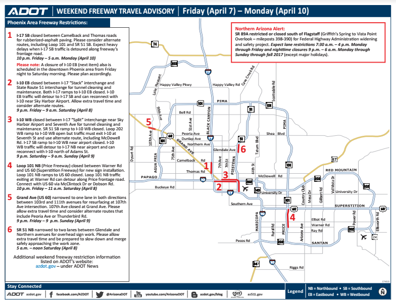 a map of closures and construction