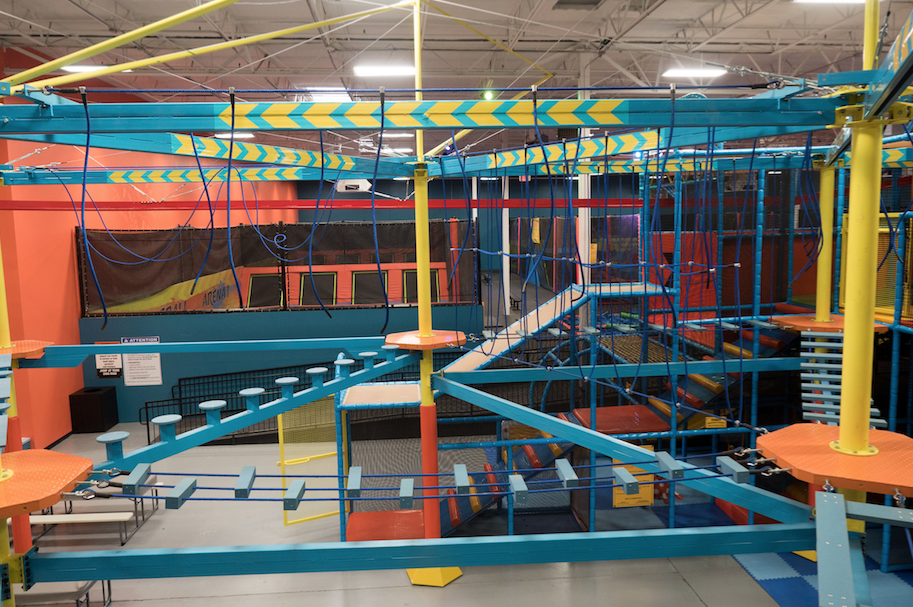 The new Urban Air Adventure Park at 48th Street and Ray Road in Ahwatukee promises an unusual combination of exercise and fun activities for children and adults when it opens this Saturday.
