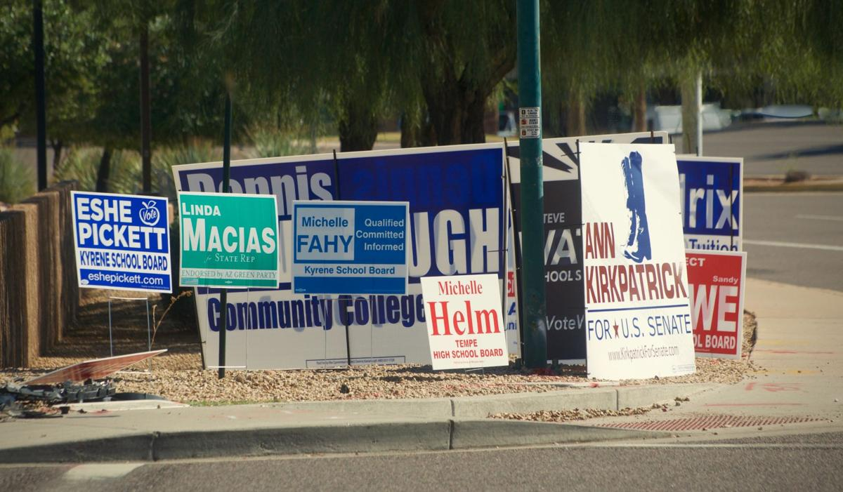 Arizona Election Signs