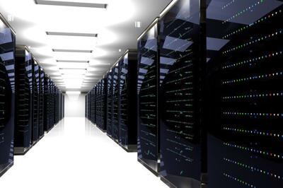 114854200 - server racks in server room cloud data center