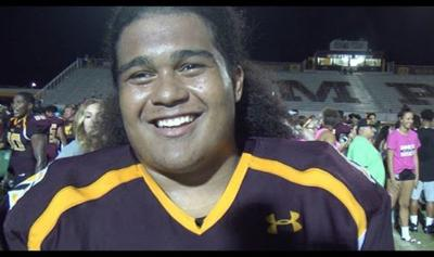 Mountain  Pointe's varsity football team likely will lose defensive star Matthew Pola-Mao to Chandler.
