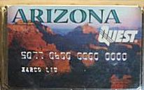 Arizona EBT food stamp card