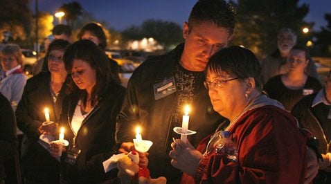 Candlelight vigil held for missing infant