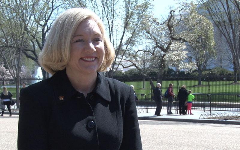 Kathryn Sorensen, Phoenix Water Service director, tried calming angry customers upset over big spikes in their bills.
