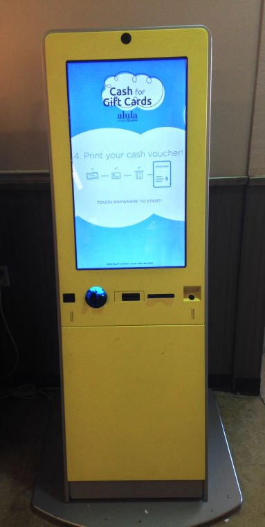 Alula Kiosks Turn Your Gift Cards Into Cash Money