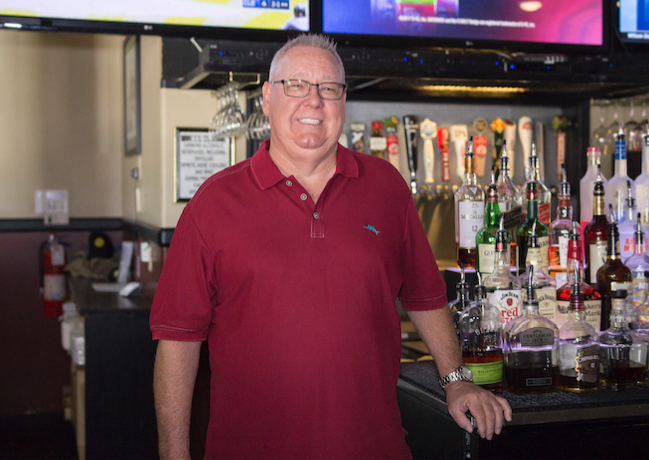 Mark Clarke has owned Bleachers in Ahwatukee for 10 years and is marking that milestone with specials on Saturday, June 17.