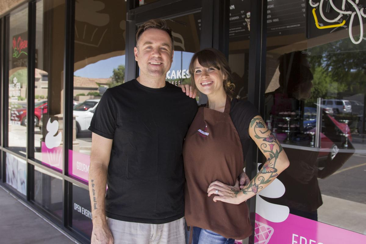 Jamie and Erica Woolford are giving Ahwatukee sweet tooths some new treats to rave about at Smallcakes Cupcakery and Creamery. Some of the specialty cupcakes include Famous Red Velvet, Caramel Crunch w/ Pretzel Toppings, Pink Chocolate, Peanut Butter Cup and Lemon Drop.