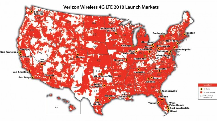 Verizon 4G network