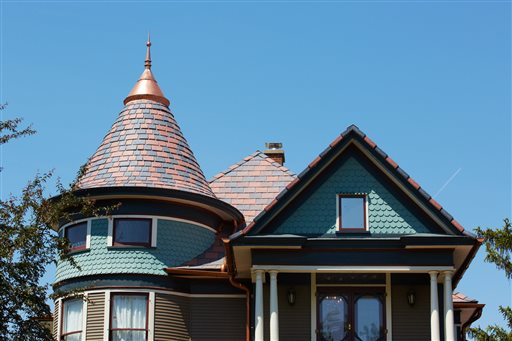 Homes-Roof Colors