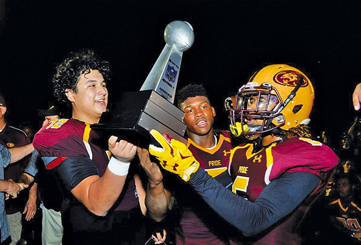 The Ahwatukee Foothills News presents this traveling trophy
