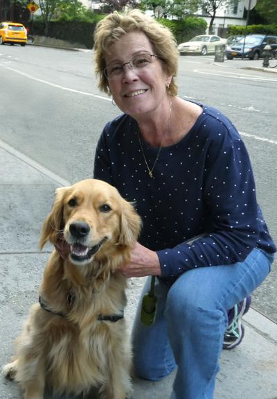 Kate McPike offers dog-sitting but cares for other kinds of pets as well