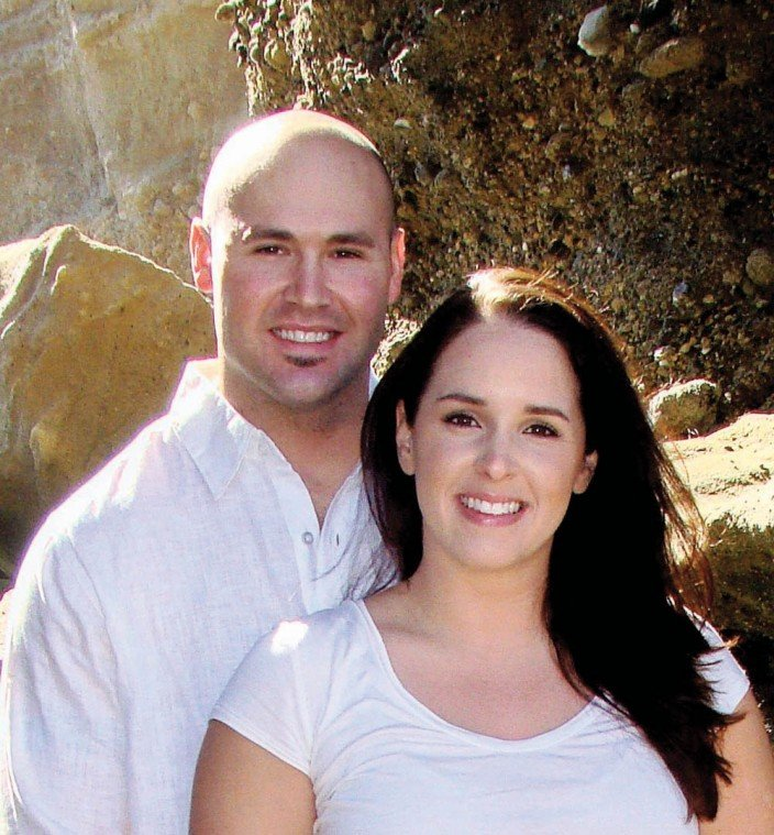 Melissa Maiefsk and Anthony Schorg