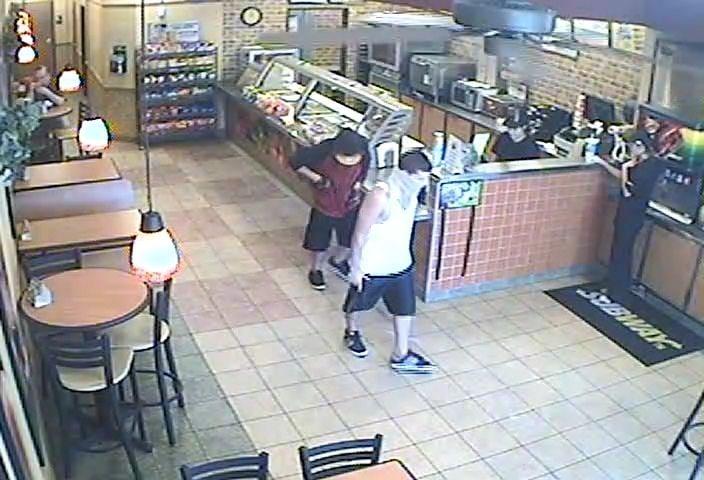 Subway robbery