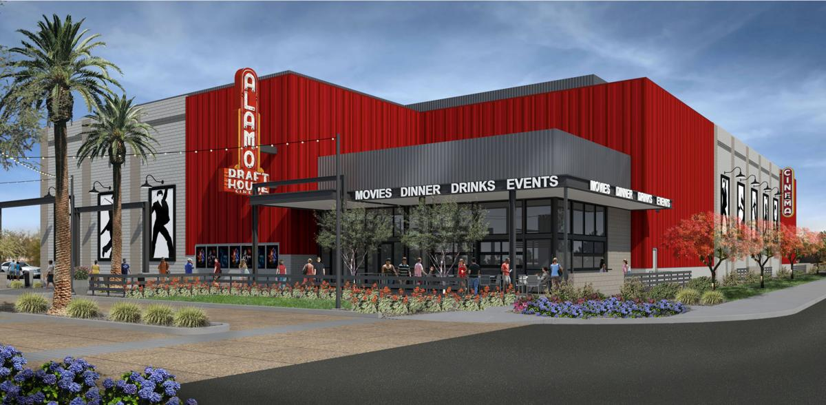 The Collective, a new 50,000-square-foot shopping, dining and entertainment destination anchored by Arizona's second Alamo Drafthouse Cinema, will be located at the corner of Rural and Baseline roads at the site of the former Lake Country Village shopping center.