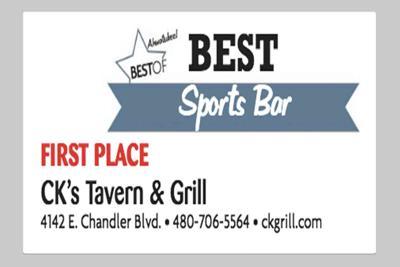 CK's Tavern & Grill 4142 E. Chandler Blvd.