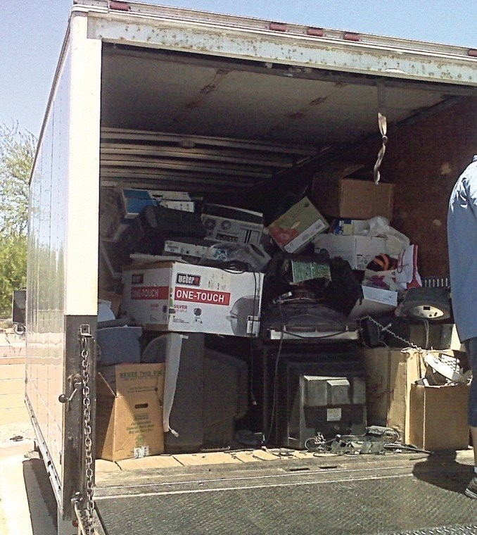 Shredding and electronic recycling event