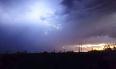 Monsoon storms hit southern AZ