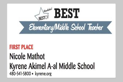 Nicole Mathot  Kyrene Akimel A-al Middle School