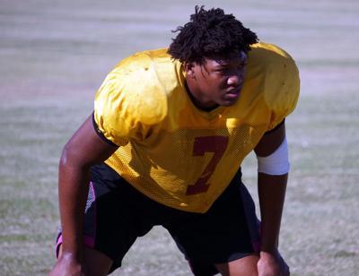 Mountain Pointe linebacker Rashion Hodge