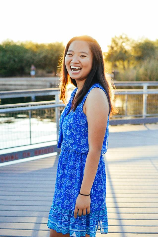 Alice Wong, who graduated from Desert Vista High School in May, was one of two students who represented Arizona at a prestigious STEM camp this summer before taking off for Rice University to begin her freshman year.